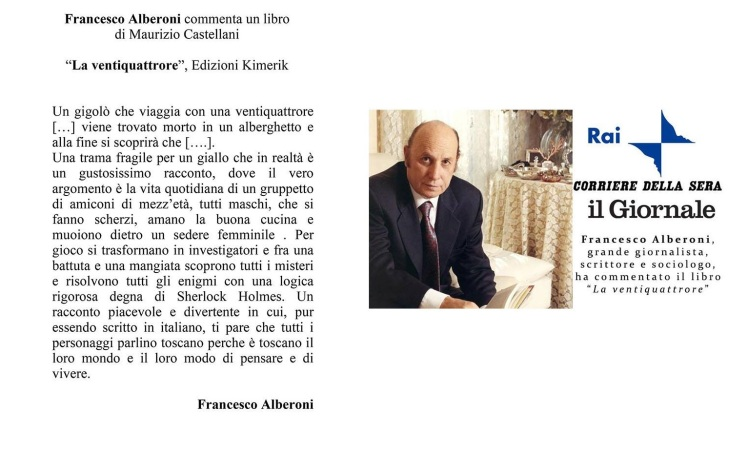 ALBERONI CASTELLANI RECINSIONE _